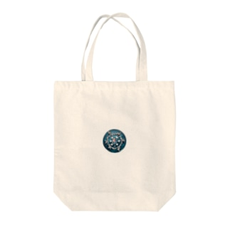 Sea and Land(テキスト無) Tote bags