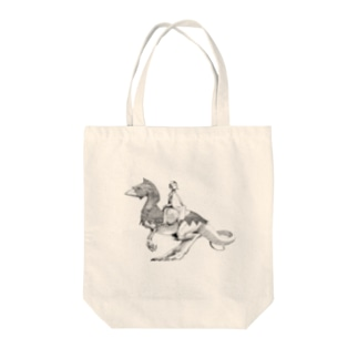 rider Tote bags