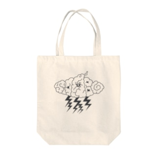 strom monster_mg Tote bags