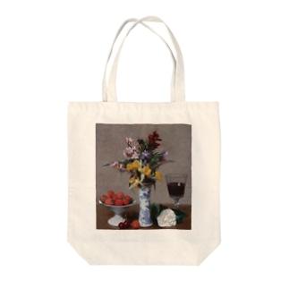 アンリ・ファンタン=ラトゥール 《婚約の花束》 Tote Bag