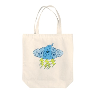 strom monster_c Tote bags