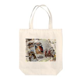 V ☻ L C A Y N ☻ (文字アリ) Tote bags