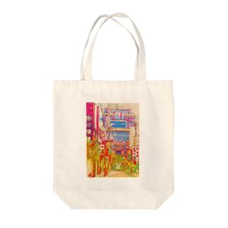 中華街 Tote bags