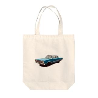アメリカン車 Tote bags