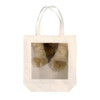 とら吉のくりーむパン🍞(猫の足) Tote bags