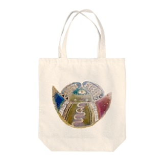 癒しのメルシー(カラー) Tote bags