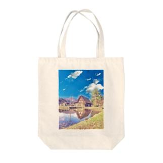 ごゆるり白川郷 Tote bags