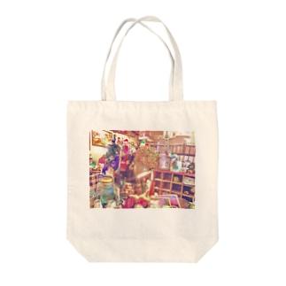 コチャカワ Tote bags