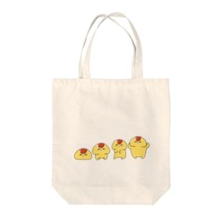 オム丸 Tote bags