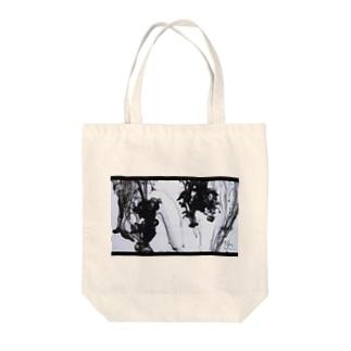 gh(ink-black) Tote bags