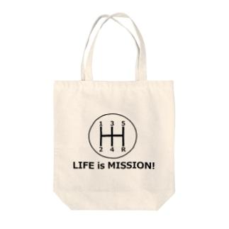 ミッション! Tote bags