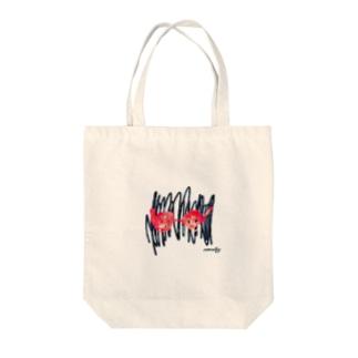グラフィー Tote bags