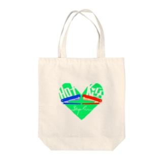 Hot Kiss~ホッチキス~ Tote bags