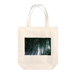 竹林(鎌倉) Tote bags