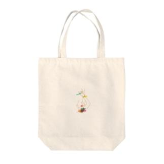 waveのTattoos  Tote bags