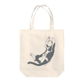 じゃれるせんちゃん(新久千映先生) Tote bags