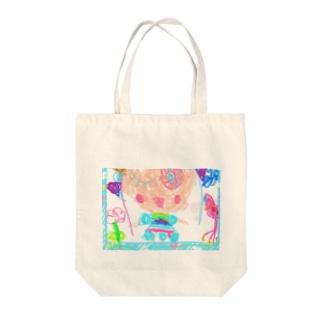 ユメカワガール Tote bags