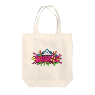 WILLPOPロゴ(サメ) Tote bags