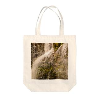 しぶき Tote bags