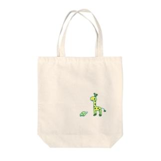 きりれおん Tote bags