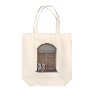 ミルクホールの窓 Tote bags