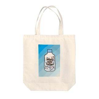 小さいミルクコーヒーですから Tote bags