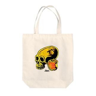 【知恵の実】 third eye brand Tote bags