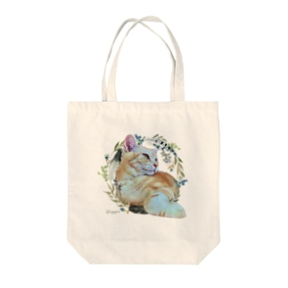 猫カフェラグドールてぃがflower Tote bags