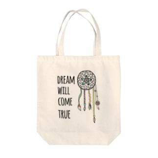 Dream will come true Tote bags