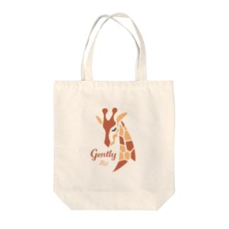 優しいキリン Tote bags