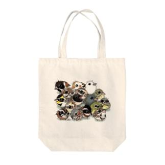 ホオジロの仲間たち Tote bags