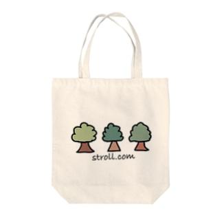 木だけのおでかけぐっず Tote bags