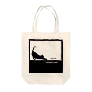ねこグッズ Tote bags