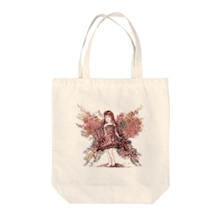 flower butterfly (花の蝶) Tote bags