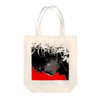蝶くん Tote bags