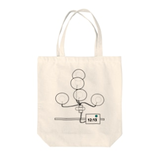 24時間ホルター心電図検査 Tote bags