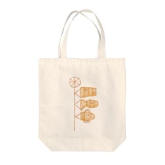 埴輪のぼり Tote bags