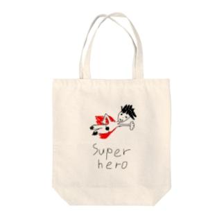 スーパーヒーロー  ディヴィット Tote bags