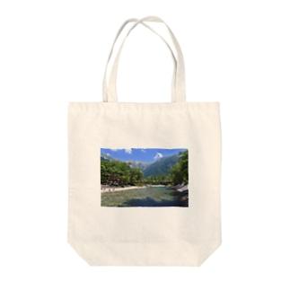 夏の上高地 Tote bags