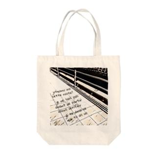 モノクロroad Tote Bag