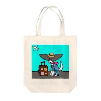 トラベルUNA Tote bags
