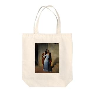 ◎セール期間限定出品◎フランチェスコ・アイエツ《キス》 Tote bags