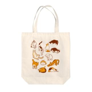 雲猫 Tote bags
