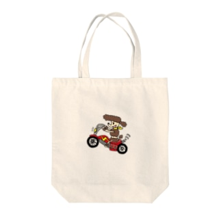 バイク Tote bags
