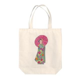 傘の人 Tote bags