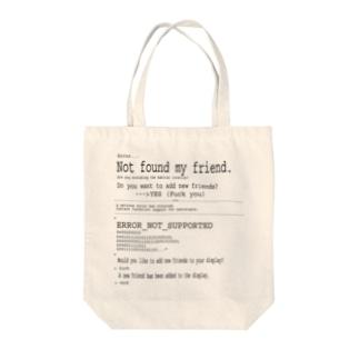 ERROR Tote bags