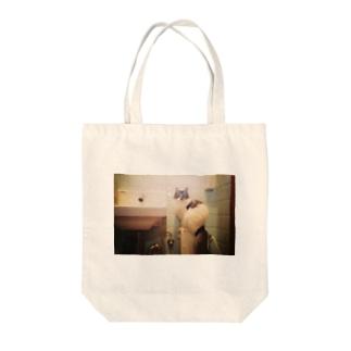 洗面台猫 Tote bags