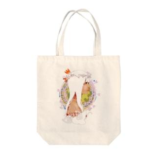 アメリカ大陸の少女C Tote bags