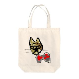 シャム猫とゲーム Tote bags