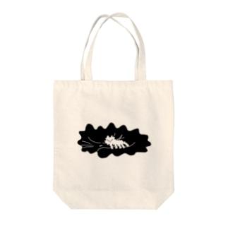 眠る猫 Tote bags